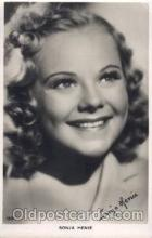act008160 - Sonja Henie Actor, Actress, Movie Star, Postcard Post Card