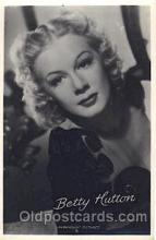 act008163 - Betty Hutton Actor, Actress, Movie Star, Postcard Post Card