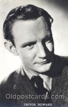 act008166 - Trevor Howard Actor, Actress, Movie Star, Postcard Post Card