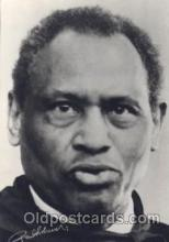 act008170 - Paul Robeson Actor, Actress, Movie Star, Postcard Post Card