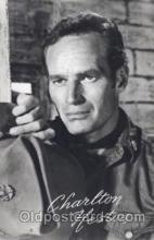 act008171 - Charlton Heston Actor, Actress, Movie Star, Postcard Post Card