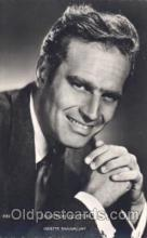 act008176 - Charlton Heston Actor, Actress, Movie Star, Postcard Post Card