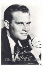 act008183 - Charlton Heston Actor, Actress, Movie Star, Postcard Post Card