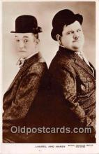 act008192 - Laurel & Hardy Movie Actor / Actress, Entertainment Postcard Post Card