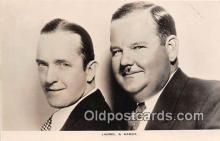 act008193 - Laurel & Hardy Movie Actor / Actress, Entertainment Postcard Post Card