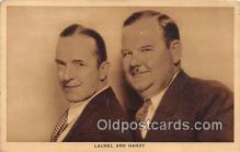 act008198 - Laurel & Hardy Movie Actor / Actress, Entertainment Postcard Post Card