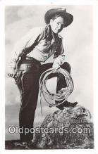 act008206 - Tim Holt Movie Actor / Actress, Entertainment Postcard Post Card