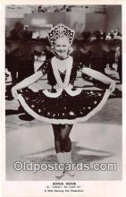 act008215 - Sonja Henie Movie Actor / Actress, Entertainment Postcard Post Card