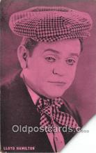 act008231 - Lloyd Hamilton Movie Actor / Actress, Entertainment Postcard Post Card