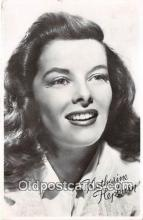 act008243 - Katharine Hepburn Movie Actor / Actress, Entertainment Postcard Post Card