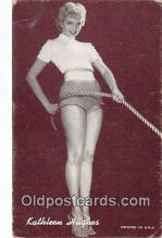 act008253 - Kathleen Hughes Movie Actor / Actress, Entertainment Postcard Post Card