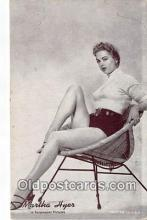 act008254 - Martha Hyer Movie Actor / Actress, Entertainment Postcard Post Card