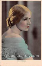 act008258 - Ann Harding Movie Actor / Actress, Entertainment Postcard Post Card