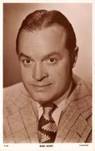 act008269 - Bob Hope Movie Star Actor Actress Film Star Postcard, Old Vintage Antique Post Card