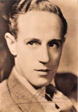 act008270 - Leslie Howard Movie Star Actor Actress Film Star Postcard, Old Vintage Antique Post Card
