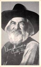 act008271 - Gabby Hayes Movie Star Actor Actress Film Star Postcard, Old Vintage Antique Post Card