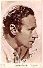 act008272 - Leslie Howard Movie Star Actor Actress Film Star Postcard, Old Vintage Antique Post Card