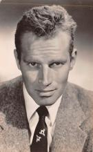 act008285 - Charlton Heston Movie Star Actor Actress Film Star Postcard, Old Vintage Antique Post Card