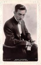 act008295 - Sessue Hayakawa Movie Star Actor Actress Film Star Postcard, Old Vintage Antique Post Card