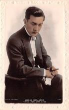 act008304 - Sessue Hayakawa Movie Star Actor Actress Film Star Postcard, Old Vintage Antique Post Card