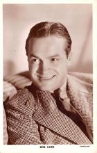 act008319 - Bob Hope Movie Star Actor Actress Film Star Postcard, Old Vintage Antique Post Card