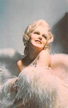 act008326 - Jean Harlow, Sex Queen, Tussaud's London Wax Museum, St Petersburg, FL Movie Star Actor Actress Film Star Postcard, Old Vintage Antique Post Card