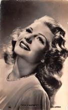 act008330 - Rita Hayworth Movie Star Actor Actress Film Star Postcard, Old Vintage Antique Post Card