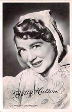 act008343 - Betty Hutton, Filmtrust Paramount Movie Star Actor Actress Film Star Postcard, Old Vintage Antique Post Card
