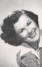 act008344 - Barbara Hale Movie Star Actor Actress Film Star Postcard, Old Vintage Antique Post Card