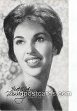 act010020 - Wanda Jackson Movie Actor / Actress, Entertainment Postcard Post Card