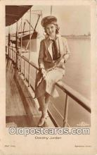 act010032 - Dorothy Jordan Movie Actor / Actress, Entertainment Postcard Post Card