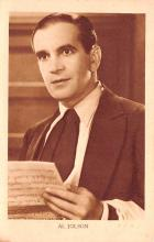 act010054 - Al Jolson Movie Star Actor Actress Film Star Postcard, Old Vintage Antique Post Card