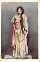 act010060 - Miss Maud Jeffries Movie Star Actor Actress Film Star Postcard, Old Vintage Antique Post Card