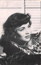 act010061 - Jennifer Jones Movie Star Actor Actress Film Star Postcard, Old Vintage Antique Post Card