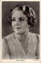 act011002 - Ruby Keeler Actress/ Actor Postcard Post Card Old Vintage Antique