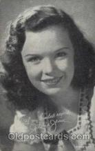 act011015 - Gloria Jean  Actress / Actor Postcard Post Card Old Vintage Antique