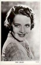 act011022 - Ruby Keeler Actress / Actor Postcard Post Card Old Vintage Antique