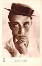 act011056 - Buster Keaton Movie Star Actor Actress Film Star Postcard, Old Vintage Antique Post Card
