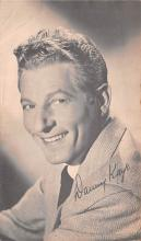 act011059 - Danny Kaye Movie Star Actor Actress Film Star Postcard, Old Vintage Antique Post Card