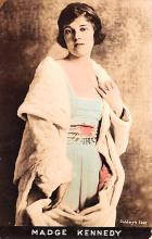 act011078 - Madge Kennedy Movie Star Actor Actress Film Star Postcard, Old Vintage Antique Post Card