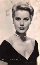 act011079 - Grace Kelly Movie Star Actor Actress Film Star Postcard, Old Vintage Antique Post Card