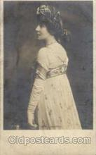act012006 - Mrs. Langtry Actress / Actor Postcard Post Card Old Vintage Antique