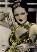 act012013 - Dorothy Lamour Actress / Actor Postcard Post Card Old Vintage Antique