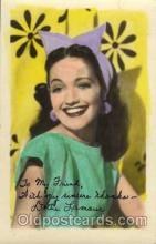 act012014 - Dorothy Lamour Actress / Actor Postcard Post Card Old Vintage Antique