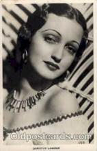 act012015 - Dorothy Lamour Actress / Actor Postcard Post Card Old Vintage Antique