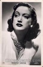 act012016 - Dorothy Lamour Actress / Actor Postcard Post Card Old Vintage Antique