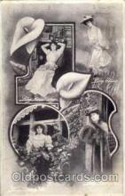 act012020 - Lily Langtry Actress / Actor Postcard Post Card Old Vintage Antique
