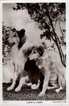 act012024 - Lassie & Laddie Actress / Actor Postcard Post Card Old Vintage Antique