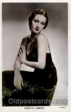 act012066 - Dorothy Lamour Postcard, Post Card