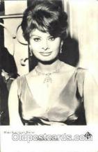 act012076 - Sophia Loren Actress / Actor Postcard Post Card Old Vintage Antique